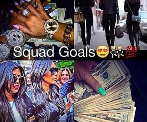 friends, squad goals, and dope image