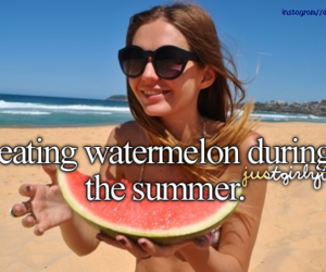 fruit, girly things, and watermelon image
