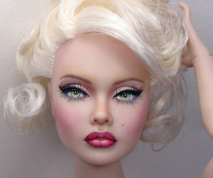 doll, face, and fashion image