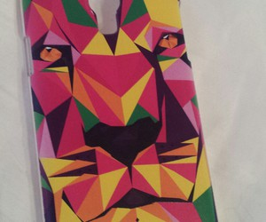 colorful, lion, and phone case image