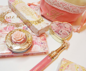 pink and cosmetics image