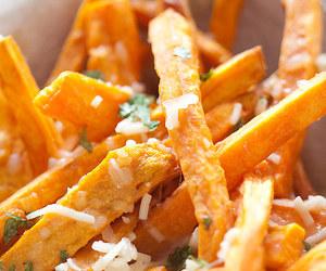 cheese, sweet potato, and 🍟 image