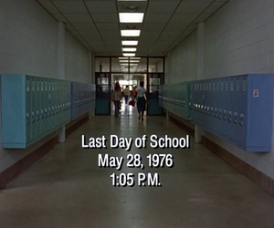 dazed and confused, movie, and school image