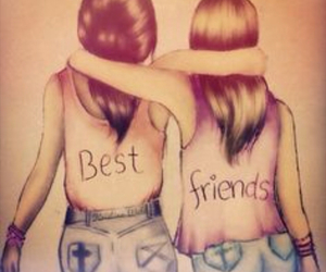 Best, best friend, and forever image