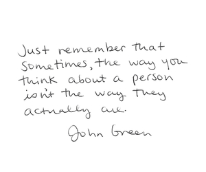 quote and john green image