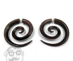 spirals, body jewelry, and tribal earrings image