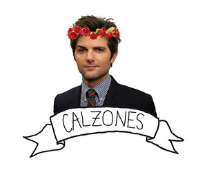 calzones, floral, and parks and rec image