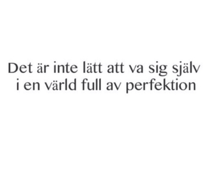 swedish, perfection, and quote image