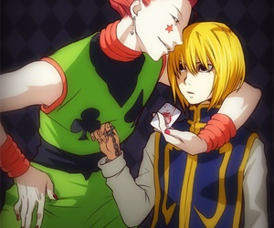 hisoka and kurapika image