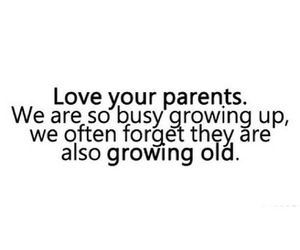 love, parents, and quotes image