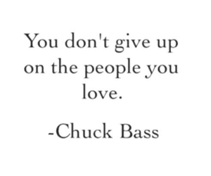 love, chuck bass, and quote image