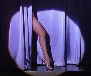 purple, glitter, and leg image