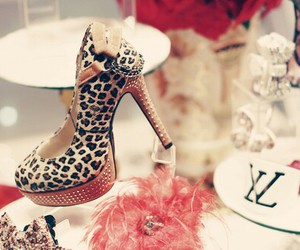 chic, heels, and fashion image