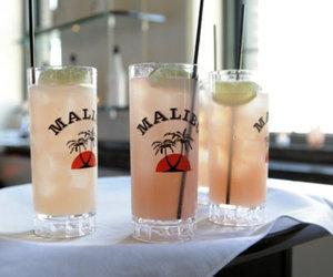 malibu, drink, and alcohol image
