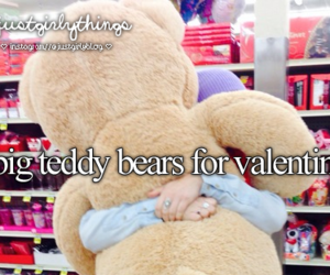 teddy bear, bear, and valentines image