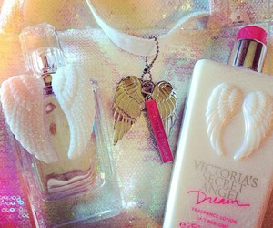 angel, lotion, and Victoria's Secret image