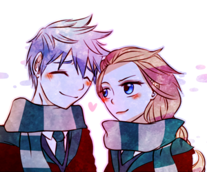drawing, frozen, and jelsa image