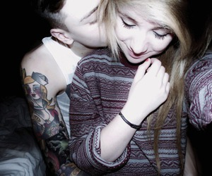 couple, boy, and tattoo image