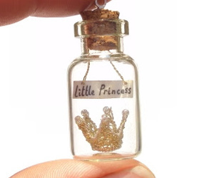 art, tiny, and bottle image
