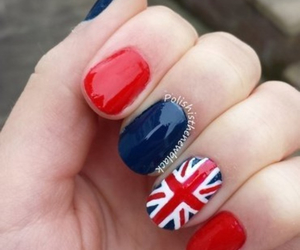 nails, red, and uk image