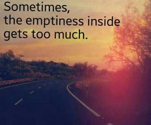 emptiness, loneliness, and missing image