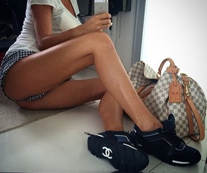 chanel, girl, and LV image