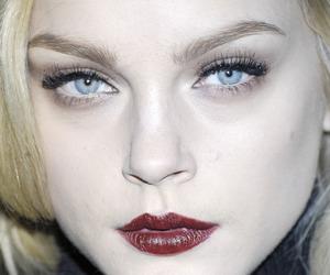 fierce, ice blue eyes, and anc image