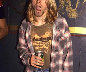 cobain, love, and grunge image