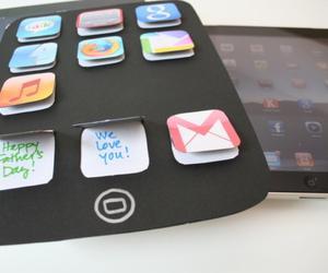 diy, gift, and ipad image