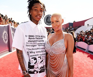 Amber Rose, couple, and outfit image