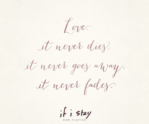 love, movie, and if i stay image