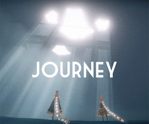 blue, light, and journey game image