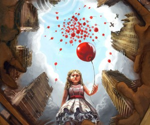 art and balloons image