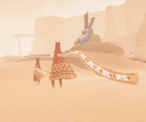 light, sand, and journey game image