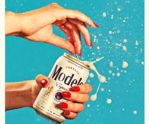 beer, nails, and art image