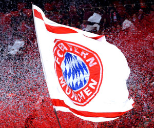 fans, flags, and bayern munchen image