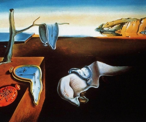 art, oil on canvas, and salvador dali image