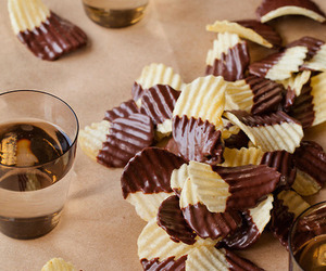 party and chocolate covered crisps image