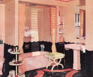 bathroom, kitsch, and kawaii image