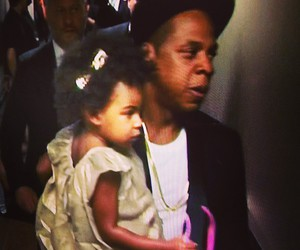jay-z and blue ivy image