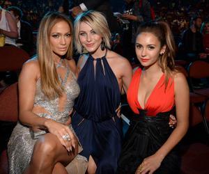 Nina Dobrev, Jennifer Lopez, and vma image