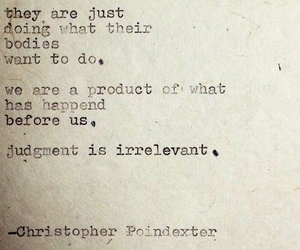 change, judgement, and poem image