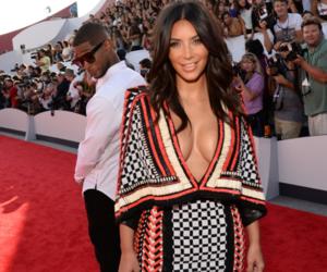 kim kardashian, usher, and vma image