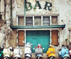 bar and Vespa image