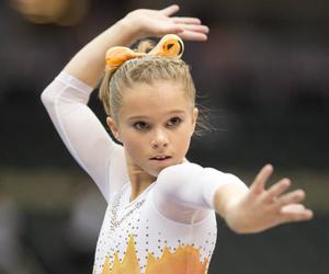 adorable, gymnastics, and itty bitty image