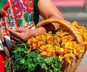flores, mexico, and calabaza image