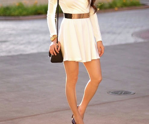 beauty, style, and white image