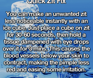 PIMPLES, diy, and zit image
