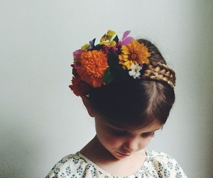 flowers and braid image
