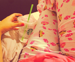 cupcakes, girly things, and starbucks image